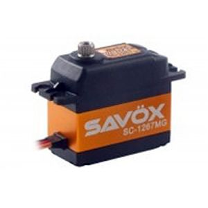 SC-1267SG High Voltage Super Speed Steel Gear Digital Servo